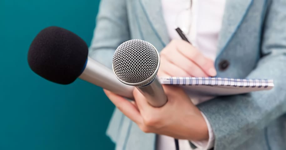 Arbeta som journalist